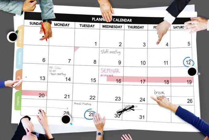 6月の予定のイメージ